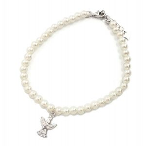 K&Co. Sterling Silver Angel Adjustable Bracelet
