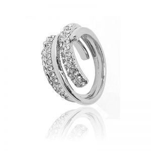 Matisse Silver Crystal Ring