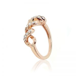 Matisse Rose Gold Crystal Ring