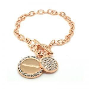 Matisse Rose Gold Crystal Bracelet