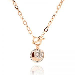 Matisse Rose Gold Crystal Necklace