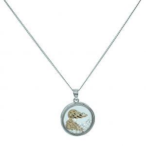 Matisse Floating Crystal Necklace