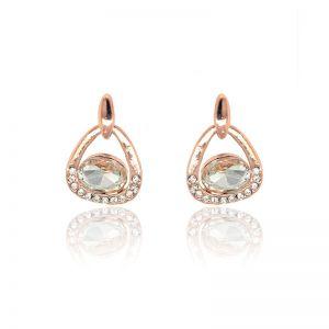 Matisse Rose Gold Crystal Earrings