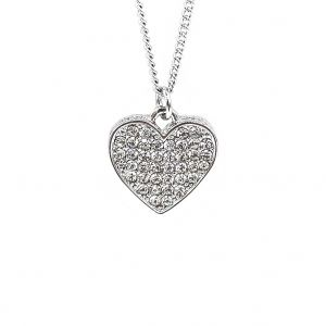Matisse Silver Heart Necklace