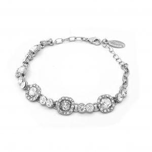 Matisse Silver Crystal Bracelet