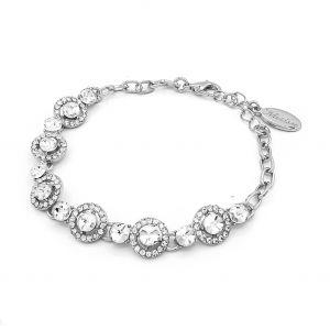 Matisse Silver Circle Bracelet