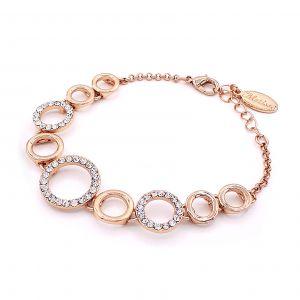 Matisse Rose Gold Circle Bracelet