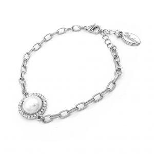 Matisse Silver Pearl Pendant Bracelet 22992