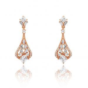 Matisse Rose Gold Earrings