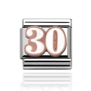 Charmlinks Rose Gold 30 Charm