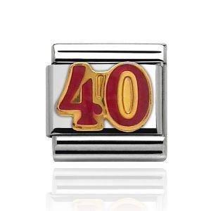 Charmlinks Gold 40 Charm