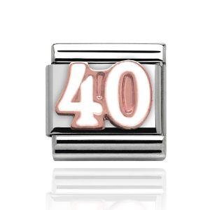 Charmlinks Rose Gold 40 Charm