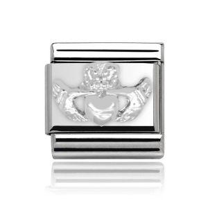 Charmlinks Silver Claddagh Charm