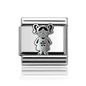 Charmlinks Silver Girl Charm