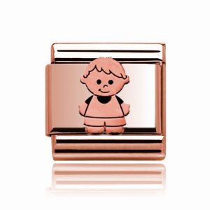 Charmlinks Rose Gold Boy Charm