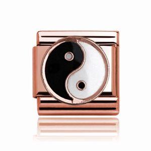 Charmlinks Rose Gold Ying & Yang Charm