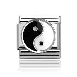 Charmlinks Silver Ying & Yang Charm