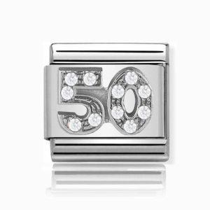 Charmlinks Silver 50 Charm