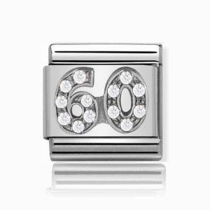 Charmlinks Silver 60 Charm