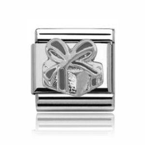 Charmlinks Silver Present Charm