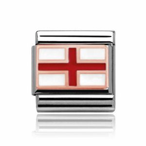 Charmlinks Rose Gold England Charm