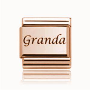 Charmlinks Rose Gold on Rose Gold Granda Charm