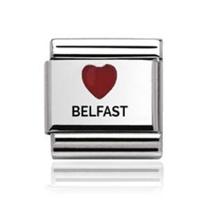 Charmlinks Silver Belfast Charm
