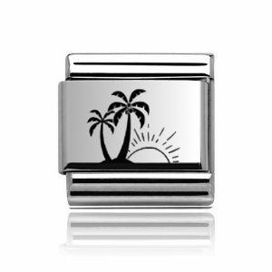 Charmlinks Silver Holiday Charm