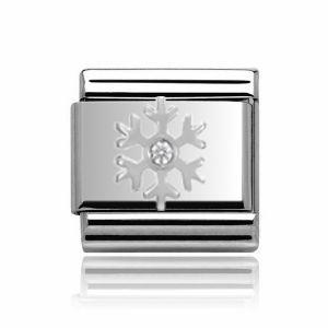 Charmlinks Silver Snowflake Charm