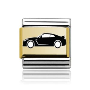 Charmlinks Gold Sports Car Charm