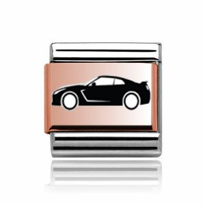 Charmlinks Rose Gold Sports Car Charm