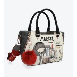 Synthetic Two Handle Anekke Bag