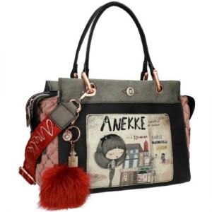 Pretty Mademoiselle handbag with two handles