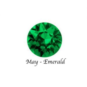 Floating Charms May Birthstone Charm - Emerald