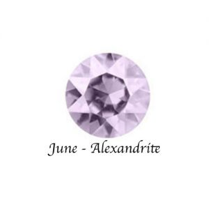Floating Charms June Birthstone Charm - Alexandrite