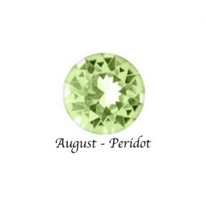 Floating Charms August Birthstone Charm - Peridot