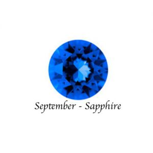 Floating Charms September Birthstone Charm - Sapphire