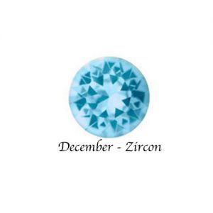 Floating Charms December Birthstone Charm - Zircon