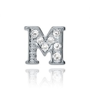 Floating Charms 'M' Charm