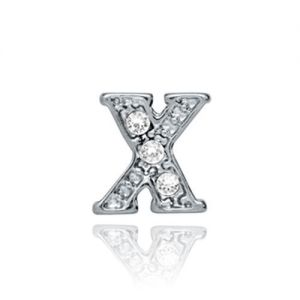 Floating Charms 'X' Charm