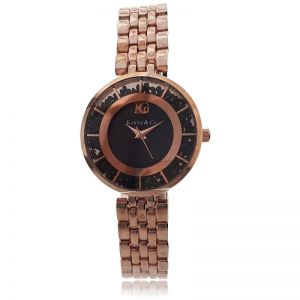 K&Co. Rose Gold Timepiece