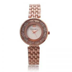 K&Co Rose Gold Timepiece