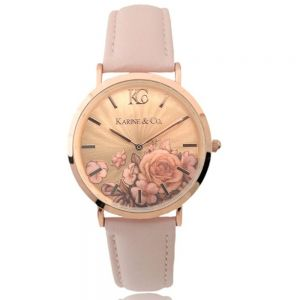 K&Co. Boheme Rose Gold Watch