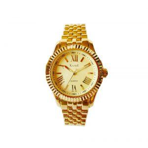 KandE Ladies' Gold Strap Watch