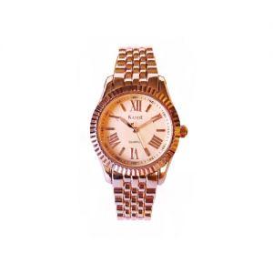 KandE Ladies' Rose Gold Strap Watch