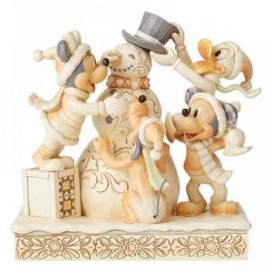 Frosty Friendship (White Woodland Mickey and Friends)