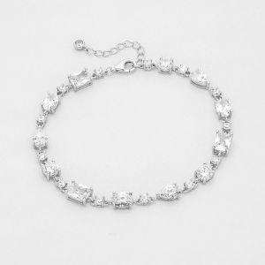K&Co. Sterling Silver Cubic Zirconia Bracelet