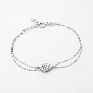 K&Co. Sterling Silver Bracelet