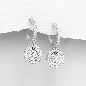 K&Co. Sterling Silver Earrings