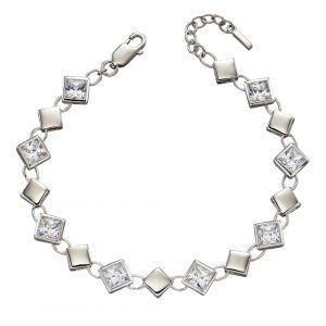 Fiorelli Square Cubic Zirconia Bracelet